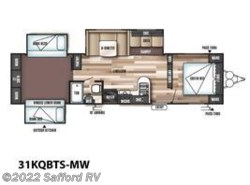 New 2017  Forest River Wildwood 31KQBTS by Forest River from Safford RV in Thornburg, VA