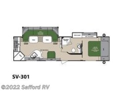 Used 2013  Forest River Surveyor Select SV-301 by Forest River from Safford RV in Thornburg, VA