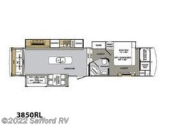 New 2017  Forest River Cardinal Estate 3850RL by Forest River from Safford RV in Thornburg, VA