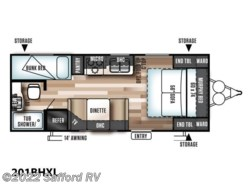 New 2018  Forest River Wildwood X-Lite 201BHXL by Forest River from Safford RV in Thornburg, VA