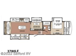 New 2017  Forest River Blue Ridge 3780LF by Forest River from Safford RV in Thornburg, VA