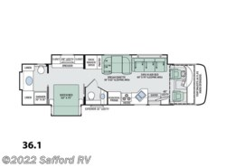 New 2017  Thor Motor Coach Palazzo 36.1 by Thor Motor Coach from Safford RV in Thornburg, VA