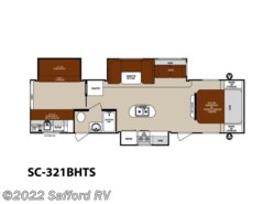 Used 2014  Forest River Surveyor SC-321BHTS by Forest River from Safford RV in Thornburg, VA