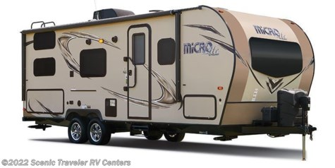 2018 Forest River Flagstaff Micro Lite 21FBRS
