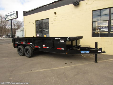 2020 Top Hat 83x16 Dump trailer