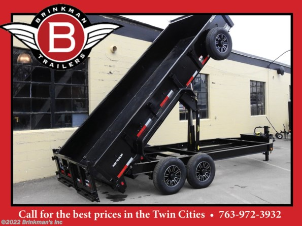 2020 Top Hat 83x16 Dump trailer available in Delano, MN