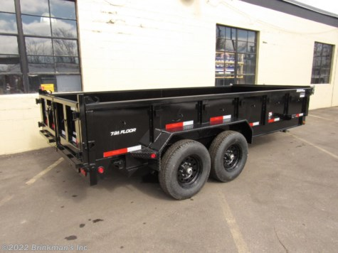 2020 Top Hat 83x14 Dump trailer   14k