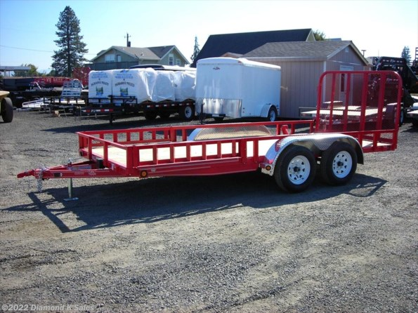 2021 PJ Trailers Utility UL16-7k Utility available in Halsey, OR