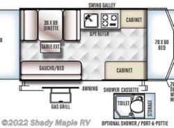 New 2017  Forest River Rockwood Freedom Series 2280BH by Forest River from Shady Maple RV in East Earl, PA