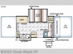 New 2019  Forest River Rockwood Premier 2514G by Forest River from Shady Maple RV in East Earl, PA