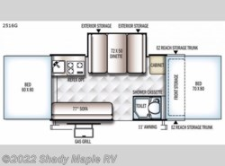 New 2018  Forest River Rockwood Premier 2516G by Forest River from Shady Maple RV in East Earl, PA