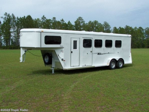 2020 Bee Trailers Stinger 4 Horse Gooseneck available in Fort Myers, FL