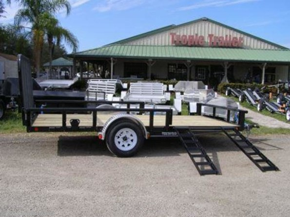 "2020 PJ Trailers Utility 83"" Single Axle Channel  (U8) 14' available in Fort Myers, FL"