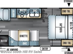 New 2017  Forest River Salem Cruise Lite T201BHXL by Forest River from South Hill RV Sales in Puyallup, WA