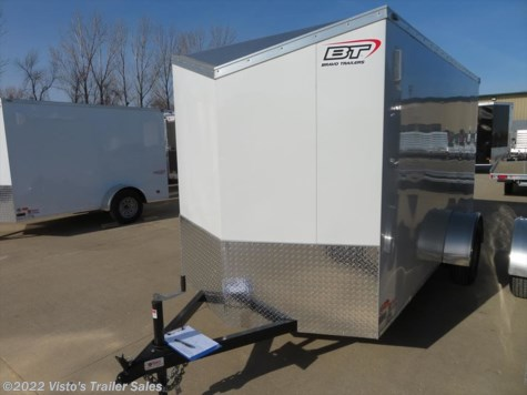 2018 Bravo Scout 6'X12' Enclosed Trailer