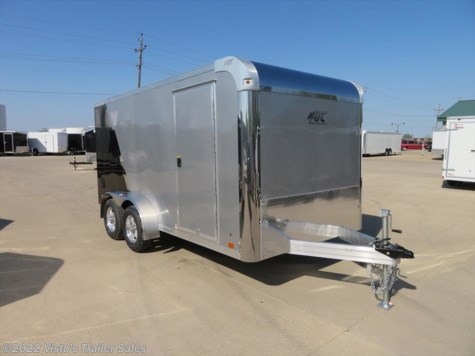 2019 ATC 7'X14' Enclosed Motorcycle Trailer
