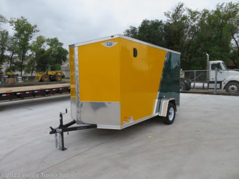 2019 MTI 6'X12' Enclosed Trailer