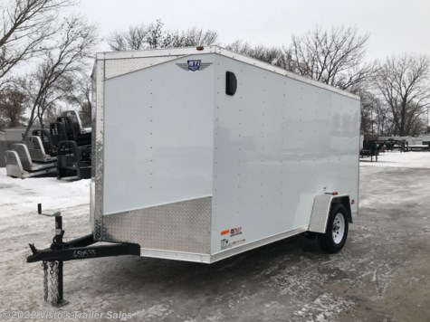 2019 MTI 7'X12' Enclosed Trailer