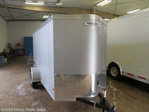 2020 Haulmark 5'X10' Enclosed Trailer
