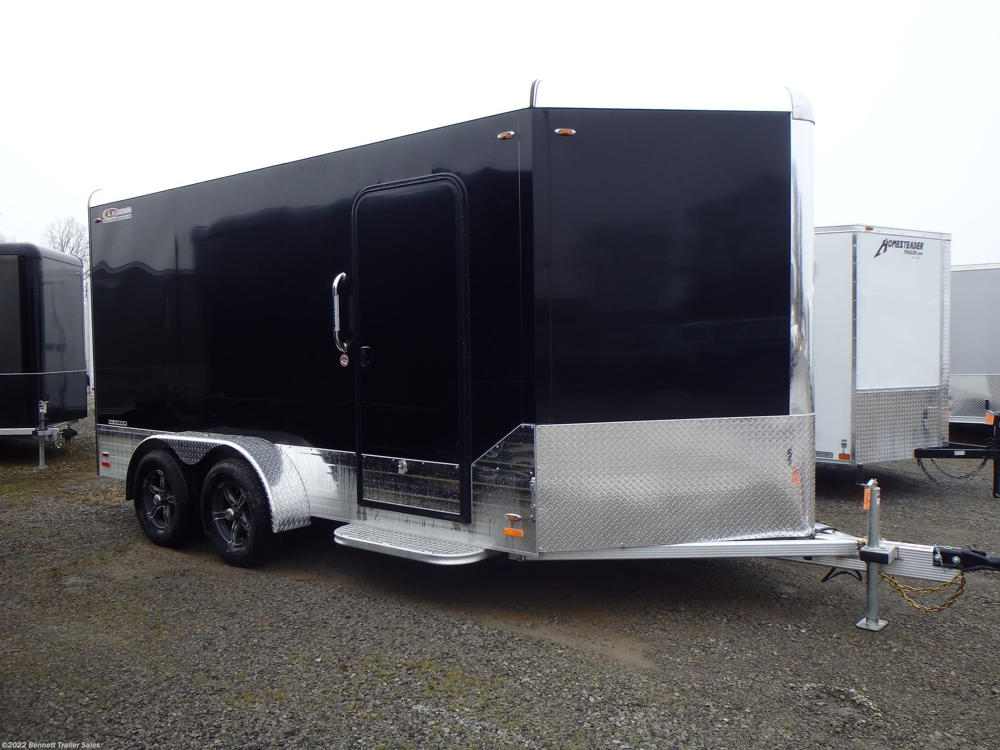 Stock Photo, Trailer will be Pewter
