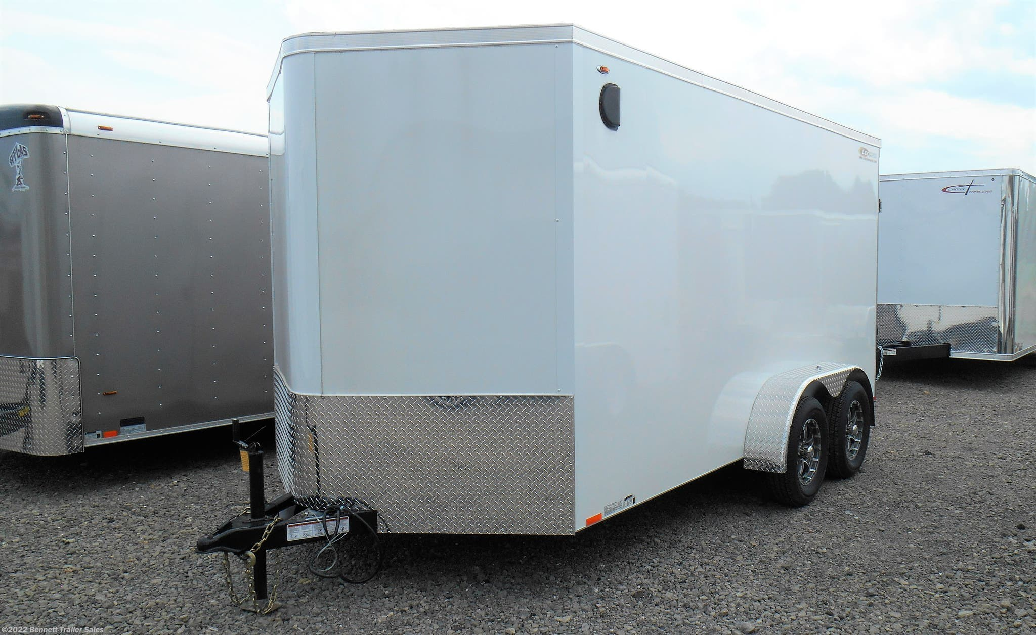 STOCK PHOTO - TRAILER WILL BE BLACK