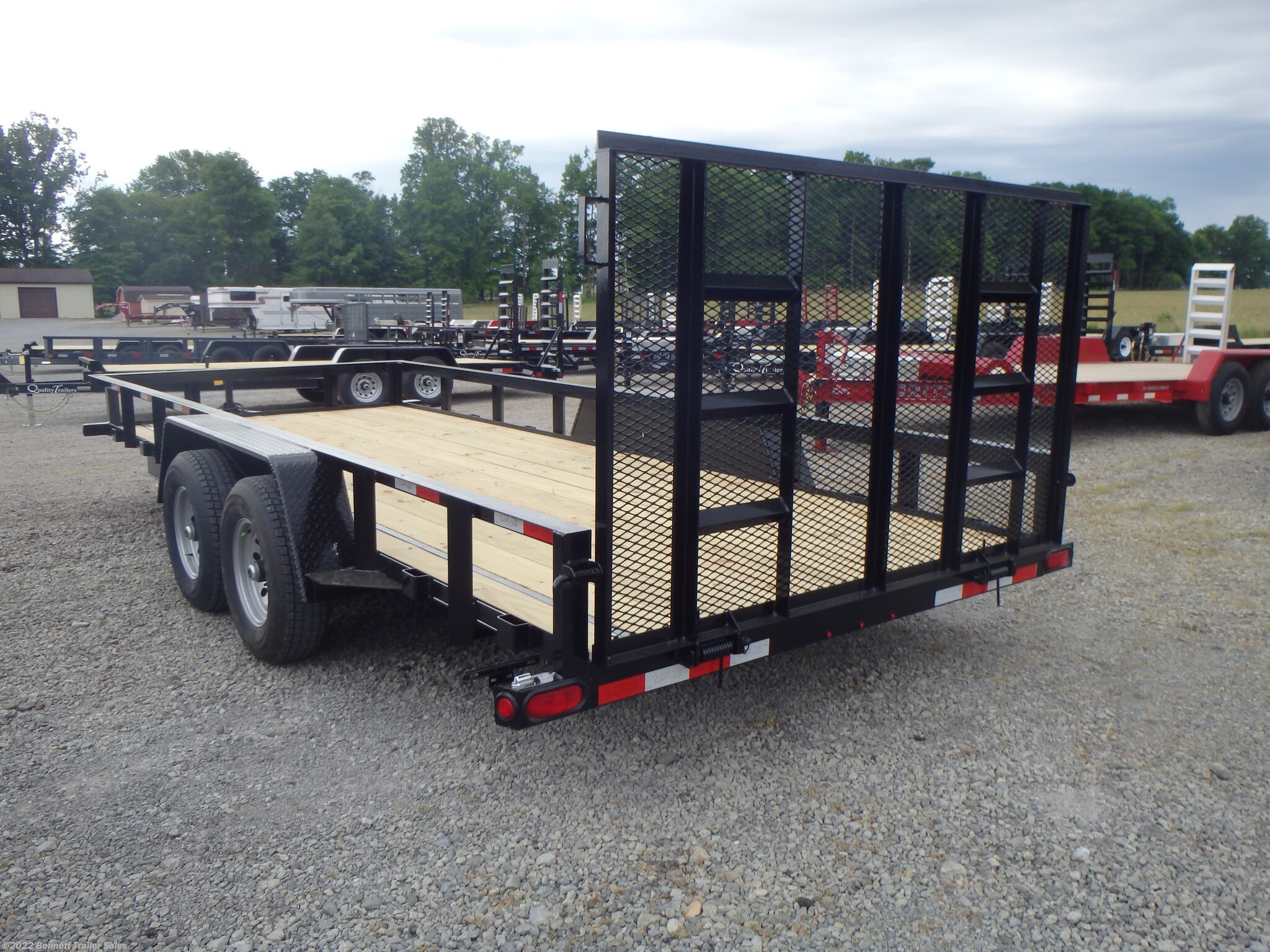 "Stock Photo - Trailer will have 24"" Dovetail"