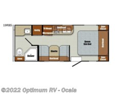 Used 2017  Gulf Stream Vintage Cruiser 19RBS by Gulf Stream from Optimum RV in Ocala, FL