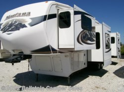 Used 2010  Keystone Montana Hickory 3750FL by Keystone from Beilstein Camper Sales in La Grange, MO
