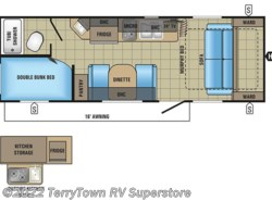 New 2017  Jayco Jay Feather 7 22BHM by Jayco from TerryTown RV Superstore in Grand Rapids, MI