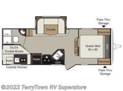 Used 2015  Keystone Passport 2400bh by Keystone from TerryTown RV Superstore in Grand Rapids, MI