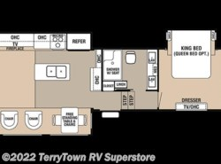 New 2018  Forest River Cedar Creek 34RL2 by Forest River from TerryTown RV Superstore in Grand Rapids, MI