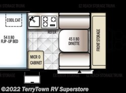 New 2017  Forest River Rockwood Hard Side A122S by Forest River from TerryTown RV Superstore in Grand Rapids, MI