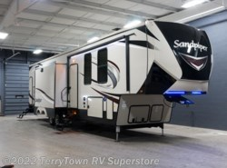 New 2018  Forest River Sandpiper 383RBLOK by Forest River from TerryTown RV Superstore in Grand Rapids, MI