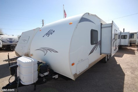 2012 Skyline Aljo Ultra-Lite 206 model Travel Trailer