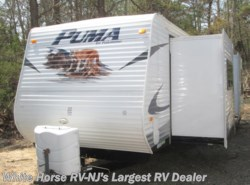 Used 2010  Palomino Puma 29FQS Rear Lounge Double Slide w/King Bed by Palomino from White Horse RV Center in Williamstown, NJ