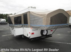 Used 2013  Forest River Flagstaff 425D Galley Tip-Out Dinette Slide-out with A/C by Forest River from White Horse RV Center in Egg Harbor City, NJ