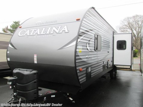 2018 Coachmen Catalina 283RKS LE-Free standing table w/walk-around Quee
