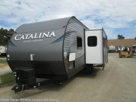 2018 Coachmen Catalina 243RBS Rear bath layout with full slide