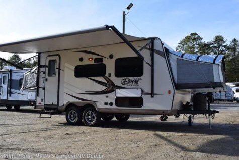 2017 Forest River Rockwood Roo 19 with Front & Rear Queen Bed Ends