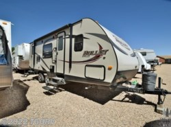 Used 2014  Keystone Bullet 246RBS by Keystone from The Great Outdoors RV in Evans, CO