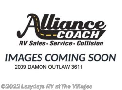 Used 2009  Damon Outlaw 3611 by Damon from Alliance Coach in Wildwood, FL