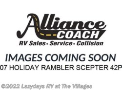 Used 2007  Holiday Rambler Scepter 42PDQ by Holiday Rambler from Alliance Coach in Wildwood, FL