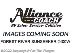 Used 2017  Forest River Sunseeker 2400W by Forest River from Alliance Coach in Wildwood, FL