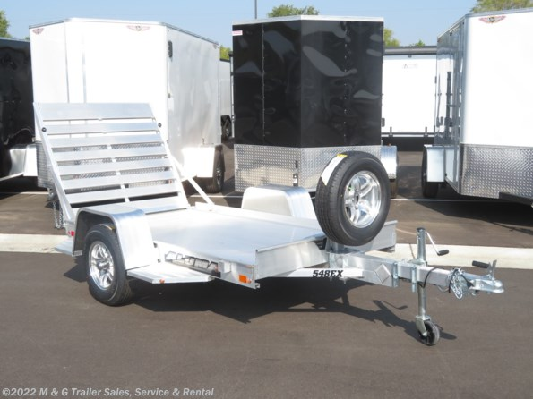 2021 Aluma 548 EX Aluminum Utility Trailer available in Ramsey, MN