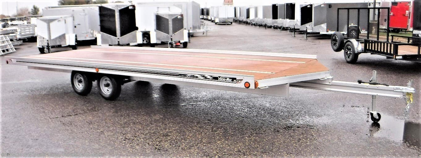 2020 FLOE 22' Drive On/Off Snowmobile Trailer - Stock #001177