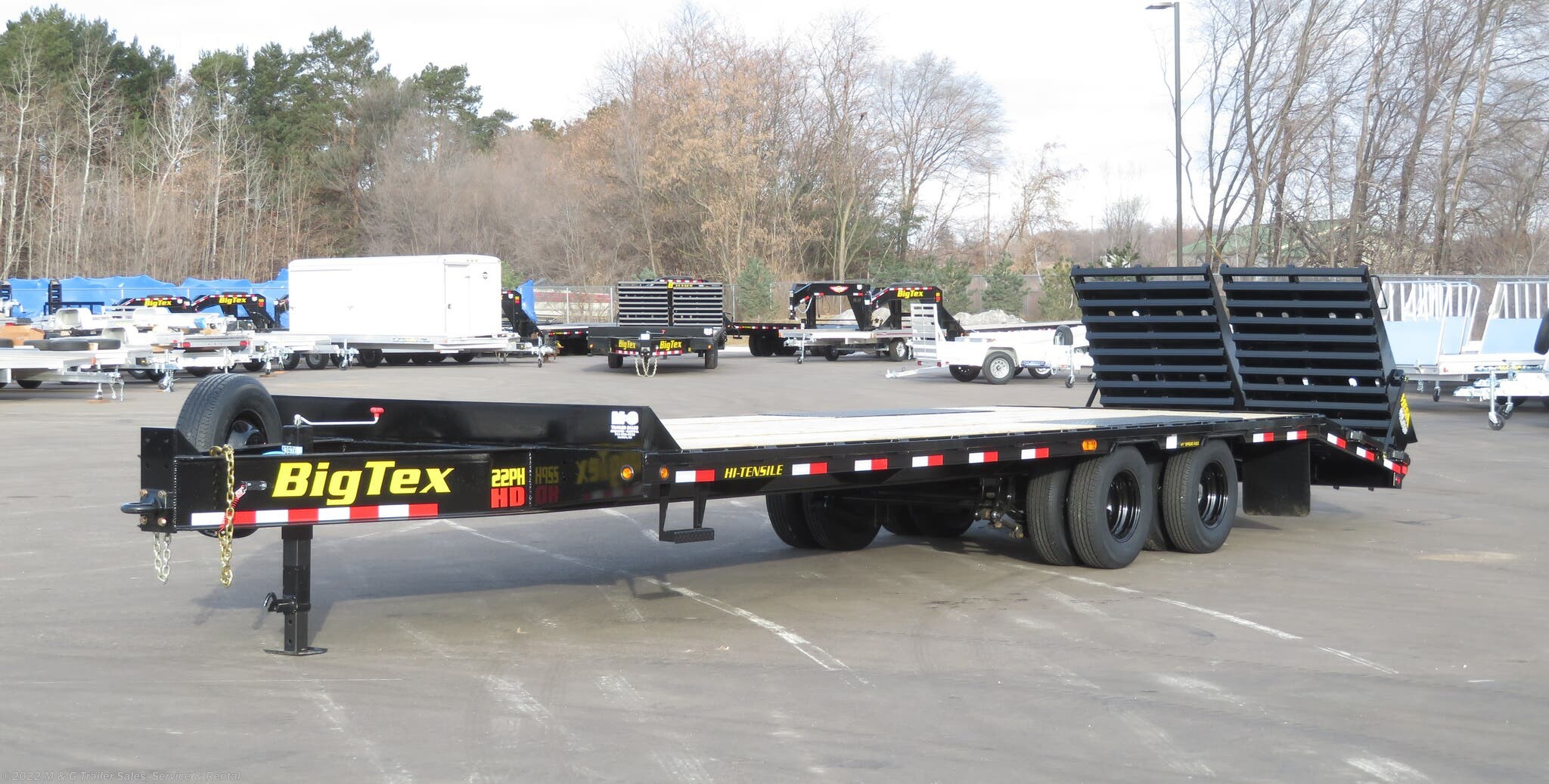 2021 Big Tex 25+5 Heavy Duty Deckover Trailer - 23.9K GVWR - Stock #043976
