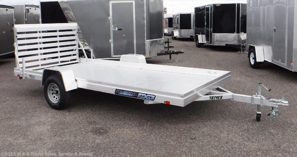 2022 Aluma 7814ES Aluminum Utility Trailer - Stock #232786