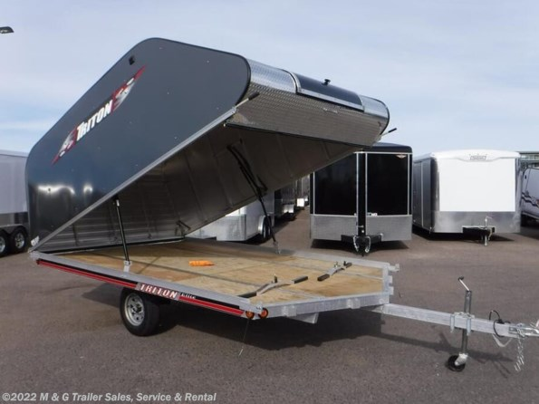 2021 Triton Trailers 12VR Coverall - CHARCOAL available in Ramsey, MN