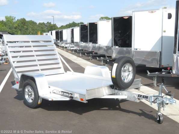 2022 Aluma 638EX Aluminum Utility Trailer available in Ramsey, MN
