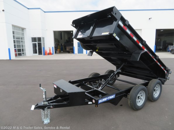 2021 Sure-Trac 5 x 10 Low Pro 7k Dump Trailer available in Ramsey, MN